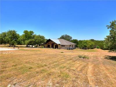 Liberty Hill Single Family Home Pending - Taking Backups: 161 N Showhorse Dr