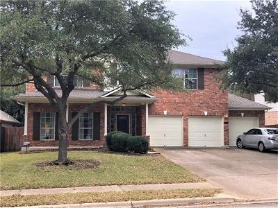 Cedar Park Single Family Home For Sale: 1402 Fall Creek Loop