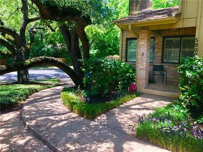 Austin Condo/Townhouse For Sale: 5900 Mountainclimb Dr #1