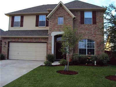 Round Rock Single Family Home For Sale: 3557 Dolomite Trl
