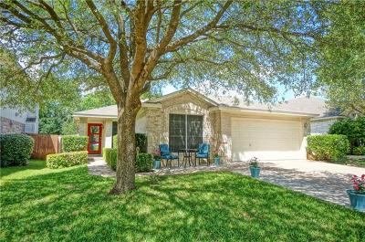 Cedar Park Single Family Home Pending - Taking Backups: 609 Fence Post Pass