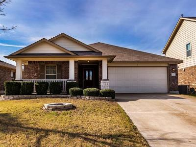 Pflugerville Single Family Home Pending - Taking Backups: 4709 Fritz Falls Xing