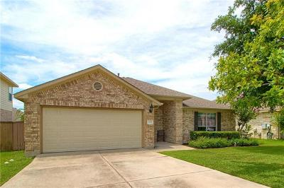 Round Rock Single Family Home Pending - Taking Backups: 4524 Heritage Well Ln