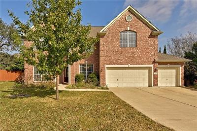 Round Rock Single Family Home Pending - Taking Backups: 3929 Lord Byron Cir