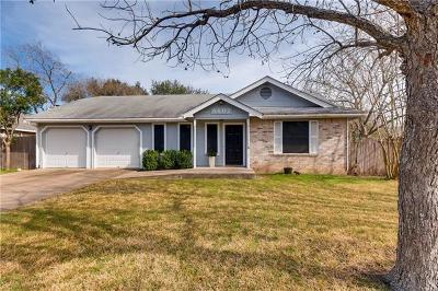 Hays County, Travis County, Williamson County Single Family Home Pending - Taking Backups: 8607 Soho Dr