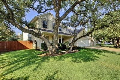 Round Rock Single Family Home For Sale: 2841 Chatelle Dr