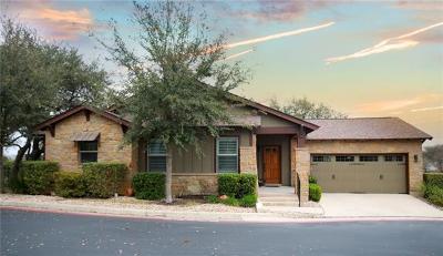 Austin Single Family Home For Sale: 14501 Falcon Head Blvd #44