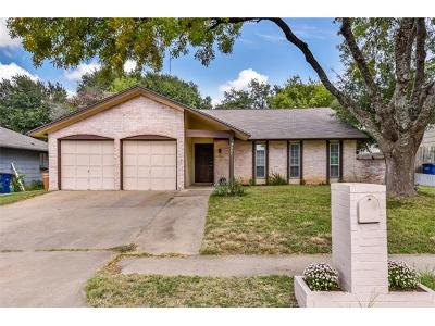Austin Single Family Home For Sale: 1406 Greenwich Dr