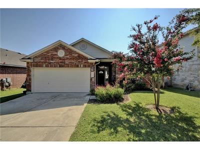 Round Rock Single Family Home For Sale: 1628 Hidden Springs Path
