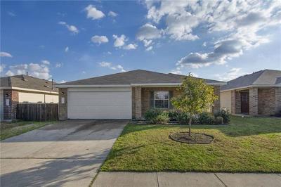 Single Family Home For Sale: 17925 Prairie Verbena Ln