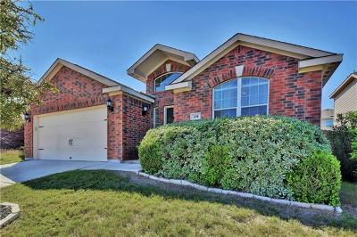 Williamson County Single Family Home For Sale: 204 Sapphire Ln