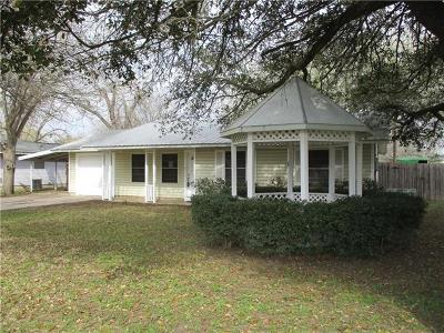 Bastrop County Single Family Home For Sale: 504 E 2nd St