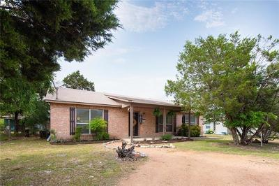 Wimberley Single Family Home Pending - Taking Backups: 910 High Mesa Dr