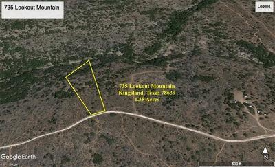 Kingsland TX Residential Lots & Land For Sale: $150,000