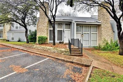 Austin Condo/Townhouse Active Contingent: 6805 Old Quarry Ln #6835