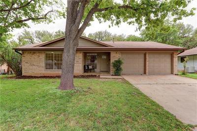 Austin Single Family Home For Sale: 2201 Whitestone Dr