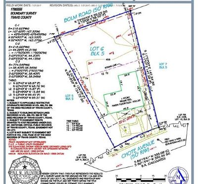 Austin Residential Lots & Land For Sale: 906 Chote Ave #2