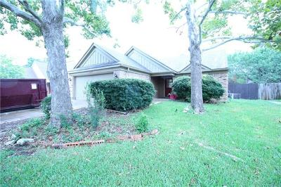 Leander Single Family Home Pending - Taking Backups: 16417 Spotted Eagle Dr