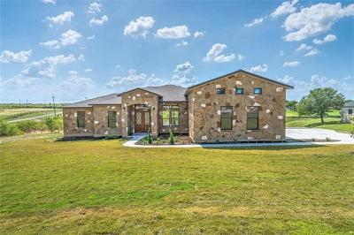 Hutto Single Family Home For Sale: 105 Tonkawa