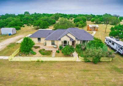 Williamson County Single Family Home For Sale: 1500 County Road 233
