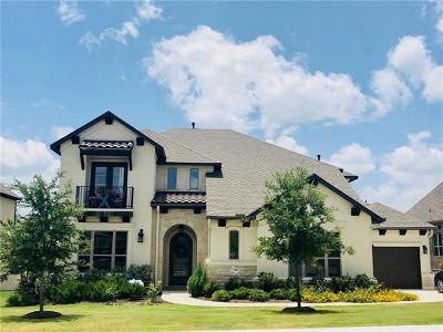Leander Single Family Home For Sale: 3920 Venezia Vw
