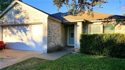 Round Rock Single Family Home Pending - Taking Backups: 2905 Donnell Dr