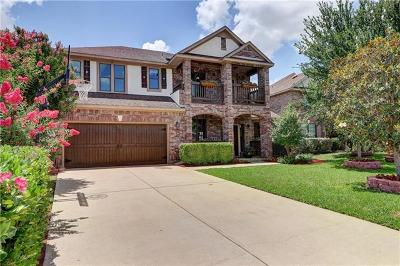Cedar Park Single Family Home For Sale: 2400 McKendrick Dr