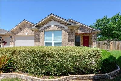Manor Single Family Home Pending - Taking Backups: 13412 Indian Oak Bnd