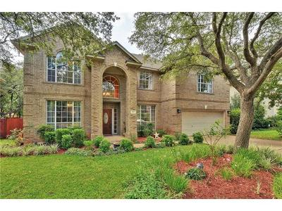 Round Rock Single Family Home For Sale: 513 Oak Park Dr