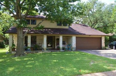 Single Family Home For Sale: 4126 Travis Country Cir