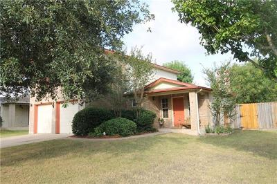 Bastrop Single Family Home Pending - Taking Backups: 318 Schaefer Blvd