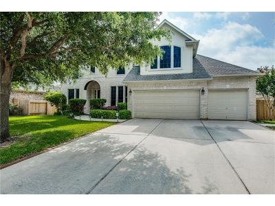Round Rock Single Family Home For Sale: 2304 Masonwood Way
