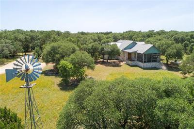 Wimberley Single Family Home For Sale: 200 Highland Rd