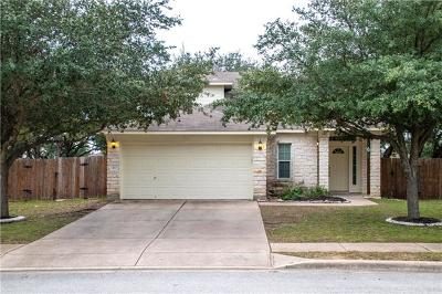 Round Rock TX Single Family Home For Sale: $280,000