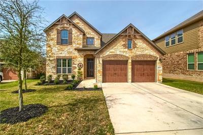 Round Rock Single Family Home For Sale: 7020 Donato Pl