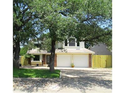 Travis County Single Family Home For Sale: 8407 Los Ranchos Dr