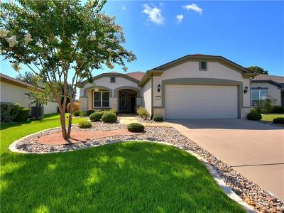 Georgetown TX Single Family Home For Sale: $332,000