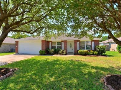 Round Rock TX Single Family Home Pending - Taking Backups: $275,000