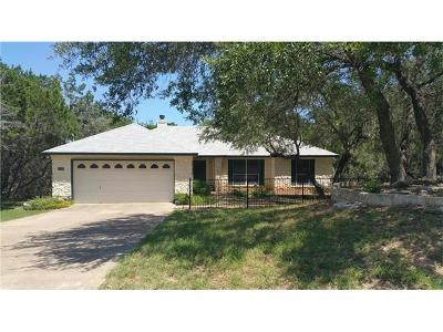 Lago Vista Single Family Home For Sale: 21114 Ridgeview Rd