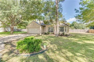 Round Rock Single Family Home For Sale: 1907 Meadowrue Cv