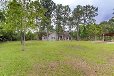 Bastrop Single Family Home Pending - Taking Backups: 113 Deer Lake Dr