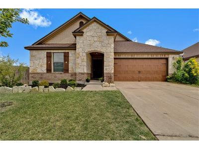 Pflugerville Single Family Home For Sale: 1012 Bethel Way