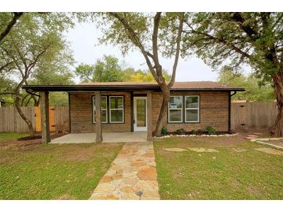 Austin Single Family Home For Sale: 16020 Agua Vis