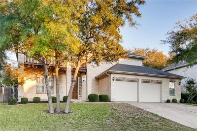Round Rock Single Family Home For Sale: 1609 Shady Hillside Pass