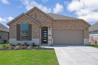 Round Rock Single Family Home For Sale: 6752 Calabria Dr