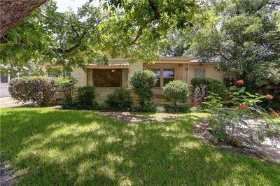Austin Single Family Home For Sale: 3811 Brookview Rd