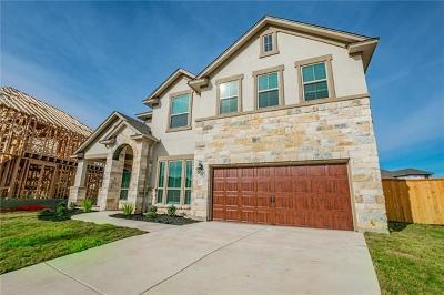 Leander Single Family Home For Sale: 1017 Hezekiah Ln