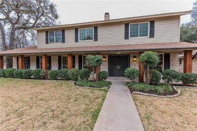 Travis County, Williamson County Single Family Home Pending - Taking Backups: 7201 N Ute Trl