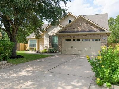 Austin Single Family Home Pending - Taking Backups: 15508 Waxler Ct