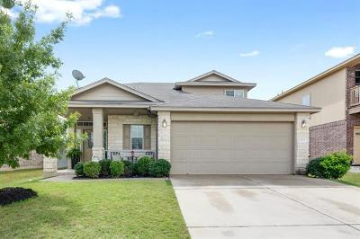Leander Single Family Home Pending - Taking Backups: 904 Gentry Dr